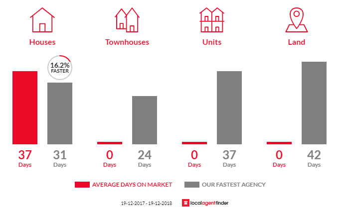 Average time to sell property in Palm Grove, NSW 2258